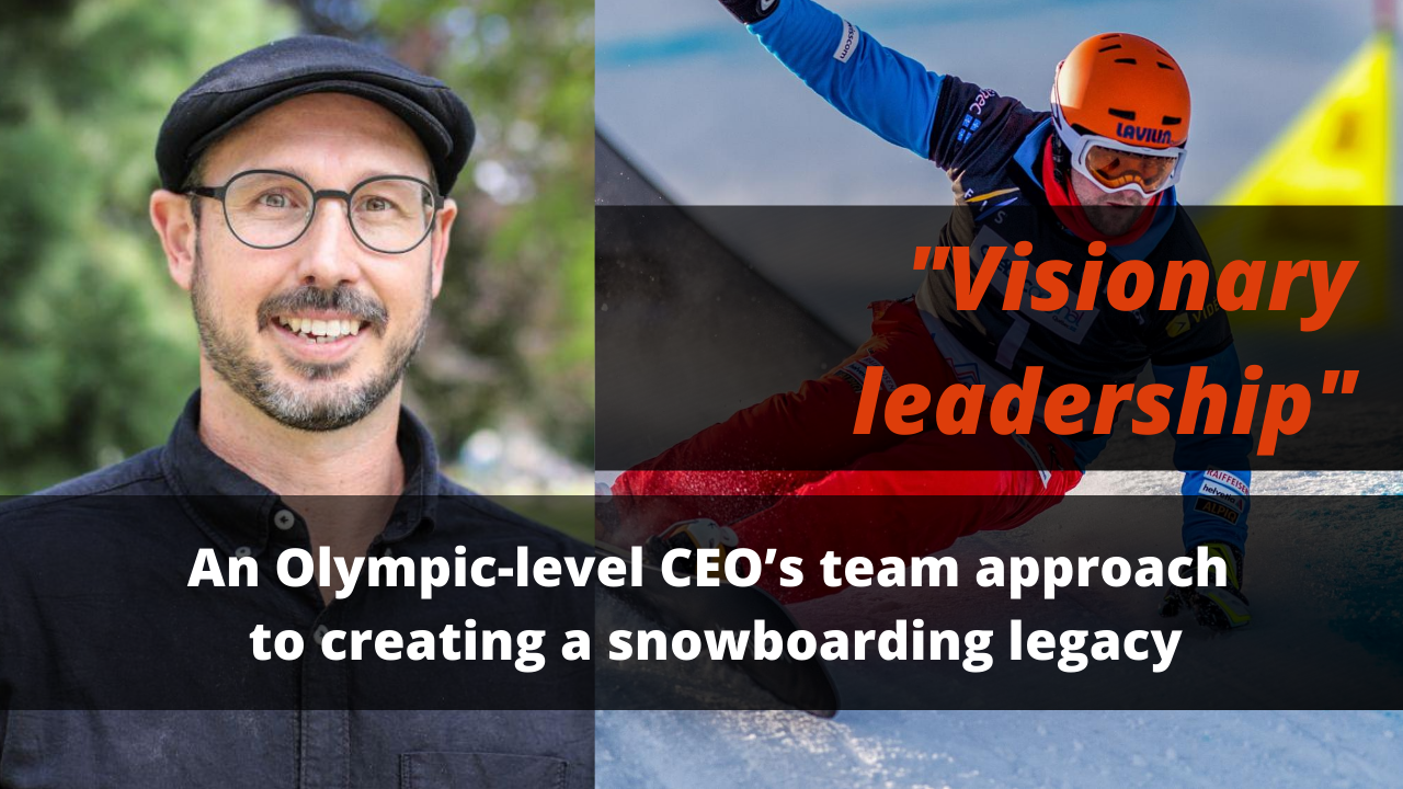 Olympic CEO's approach
