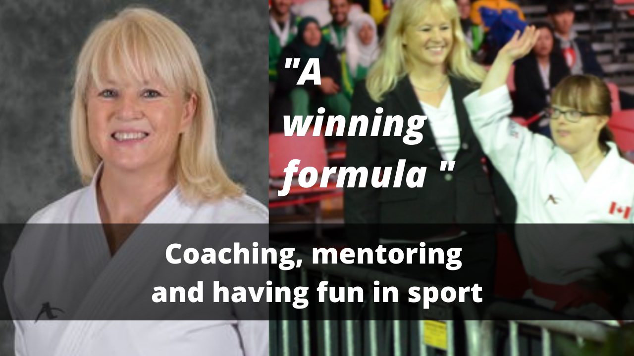 Coaching, mentoring and having fun in sport