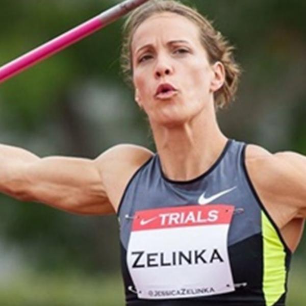 Jessica Zelinka, Olympic athlete - Heptathlon