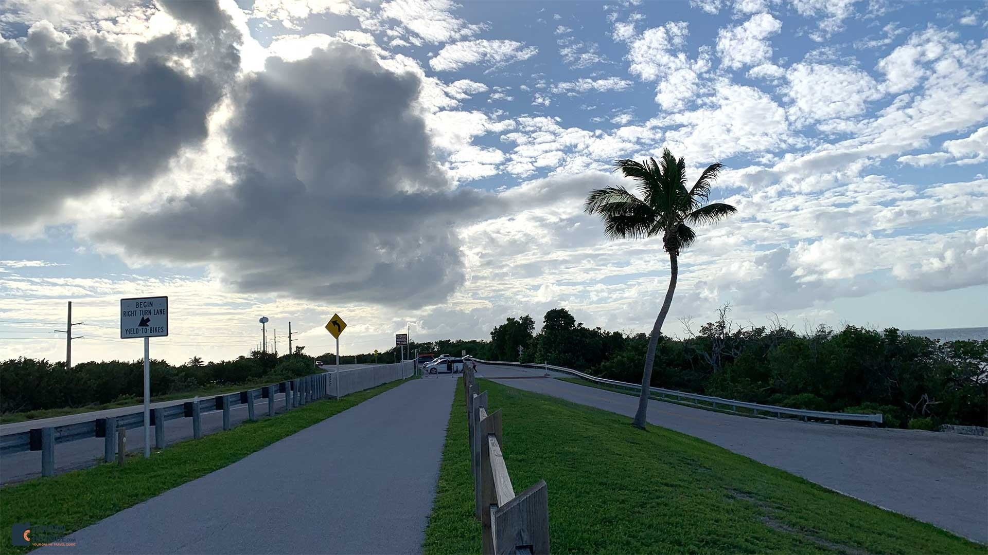 Little Duck Key, Florida Keys - Parking Lot