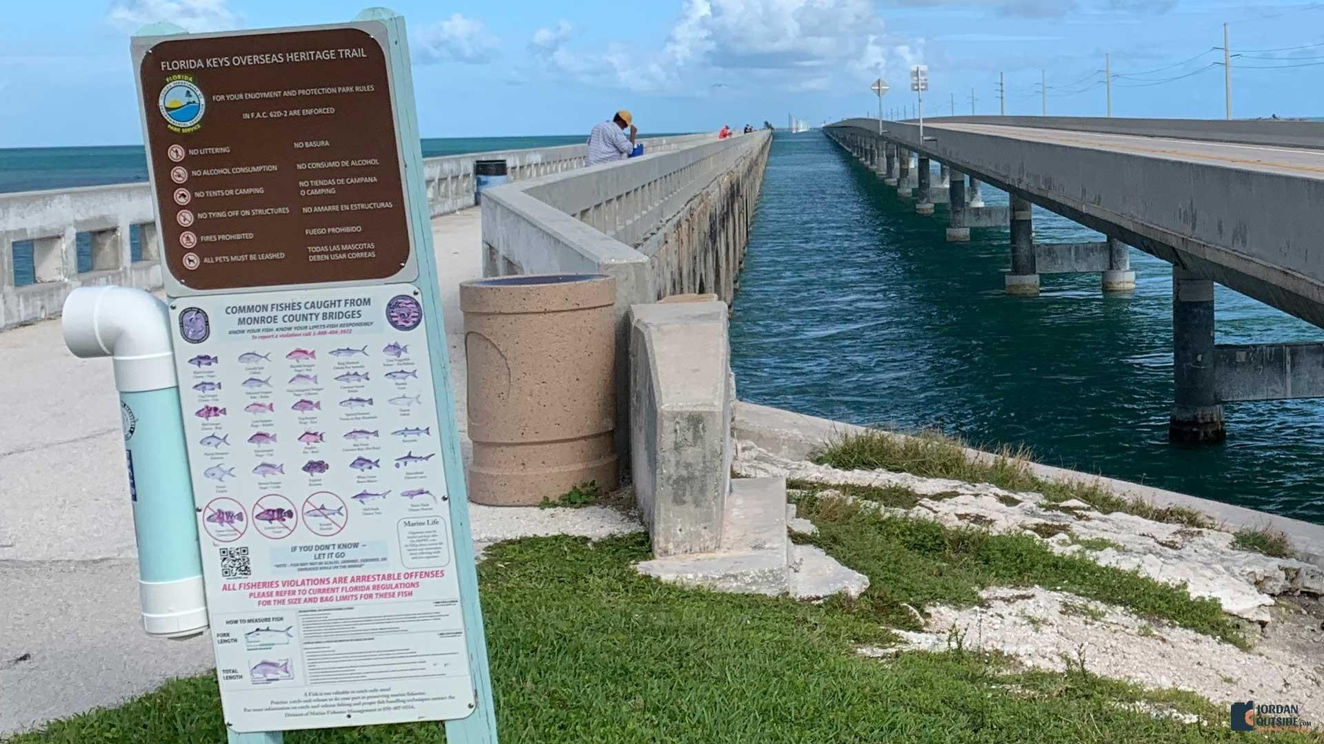 Little Duck Key, Florida Keys - Fishing Bridge