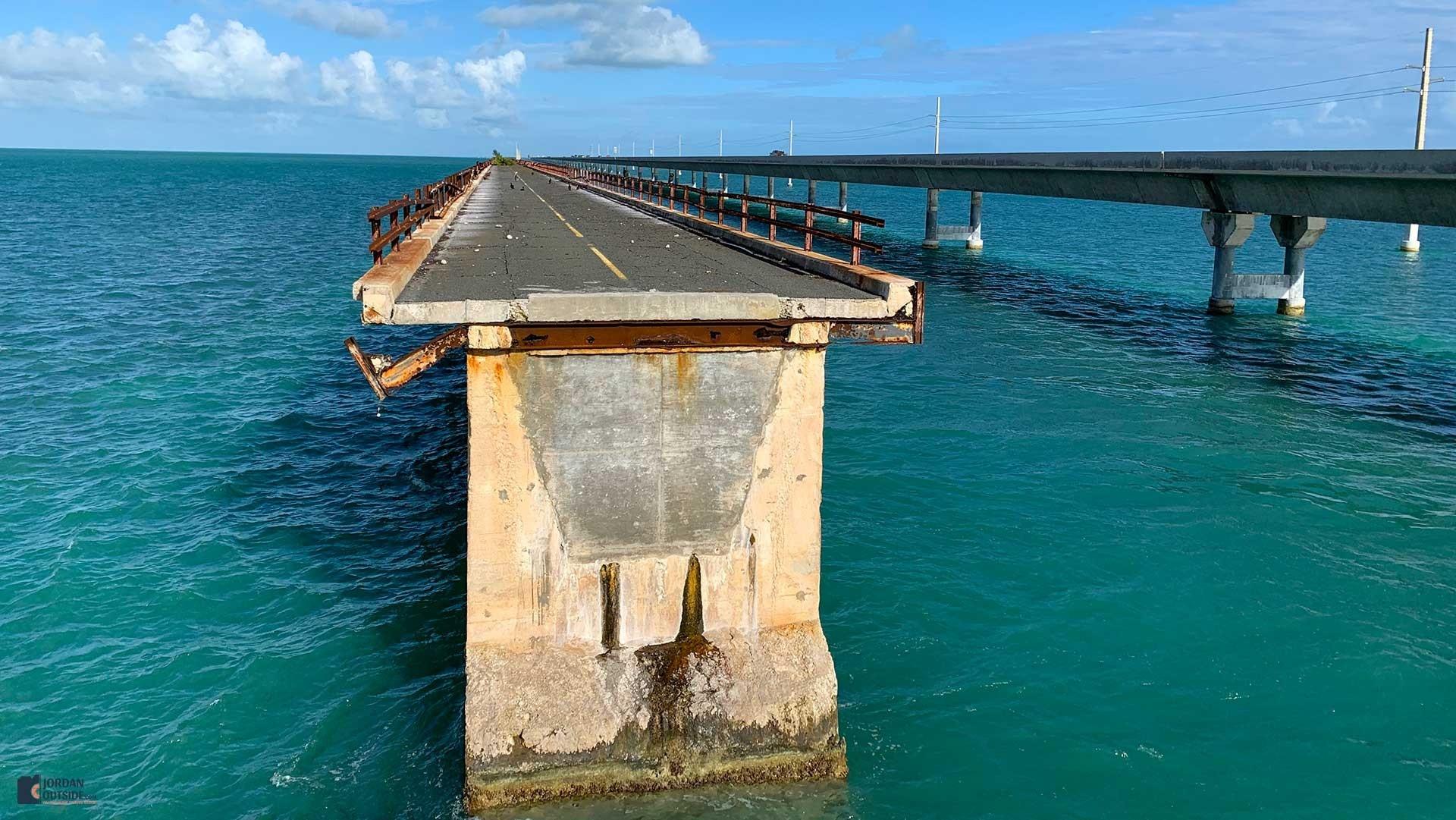 Little Duck Key, Florida Keys - Old 7 Mile Bridge