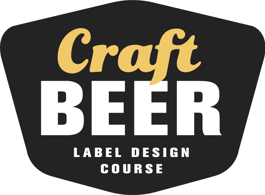Craft Beer Label Design Course Logo