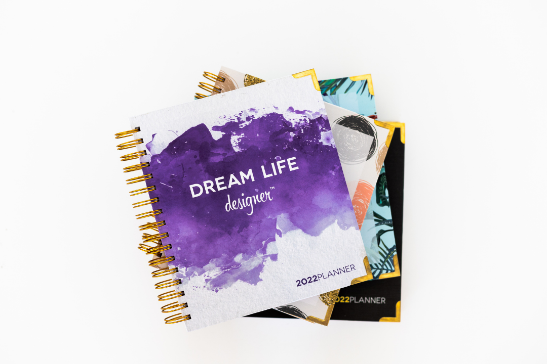 Dream Life Designer Planners Purple Splash