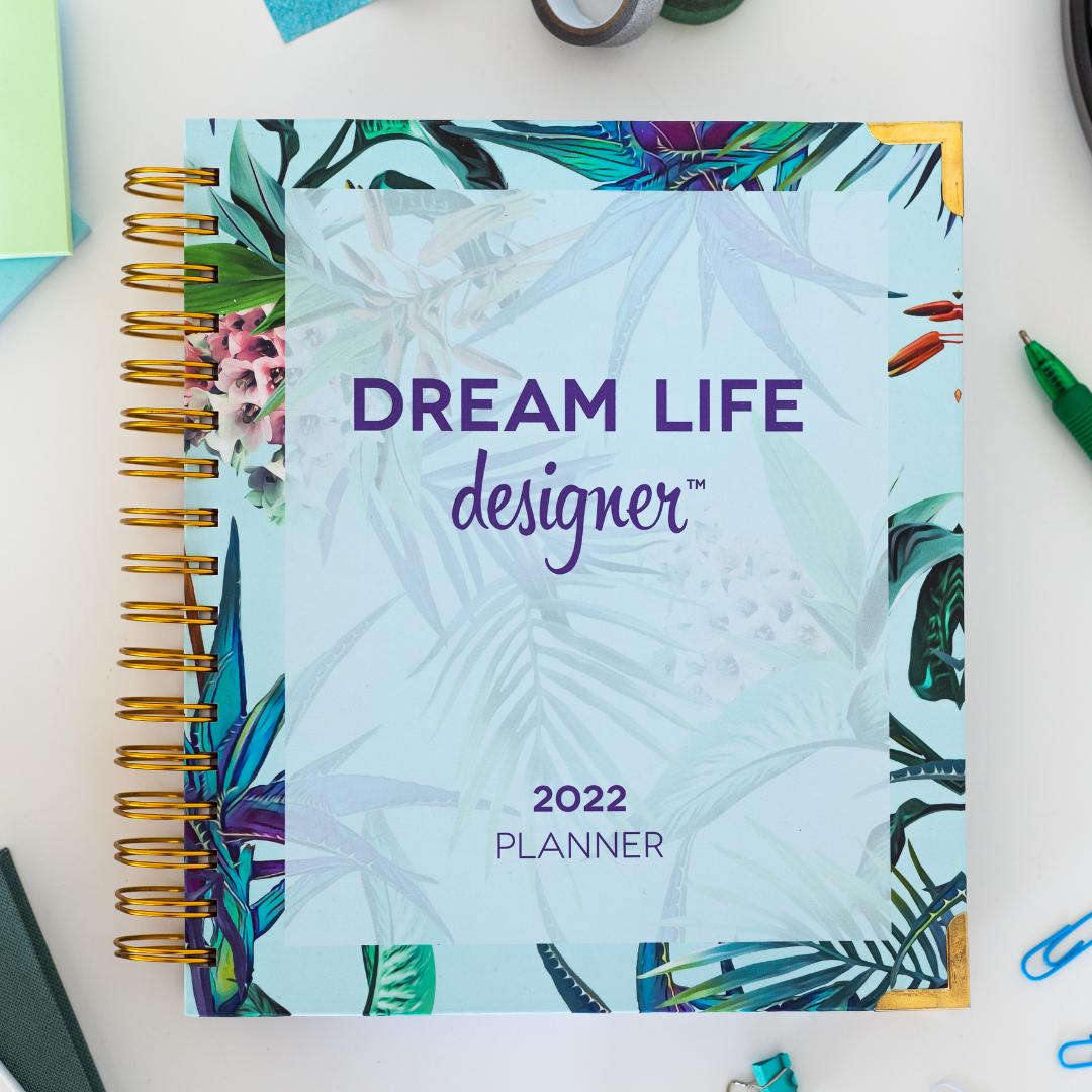 Floral Dream Life Designer Planner 2022
