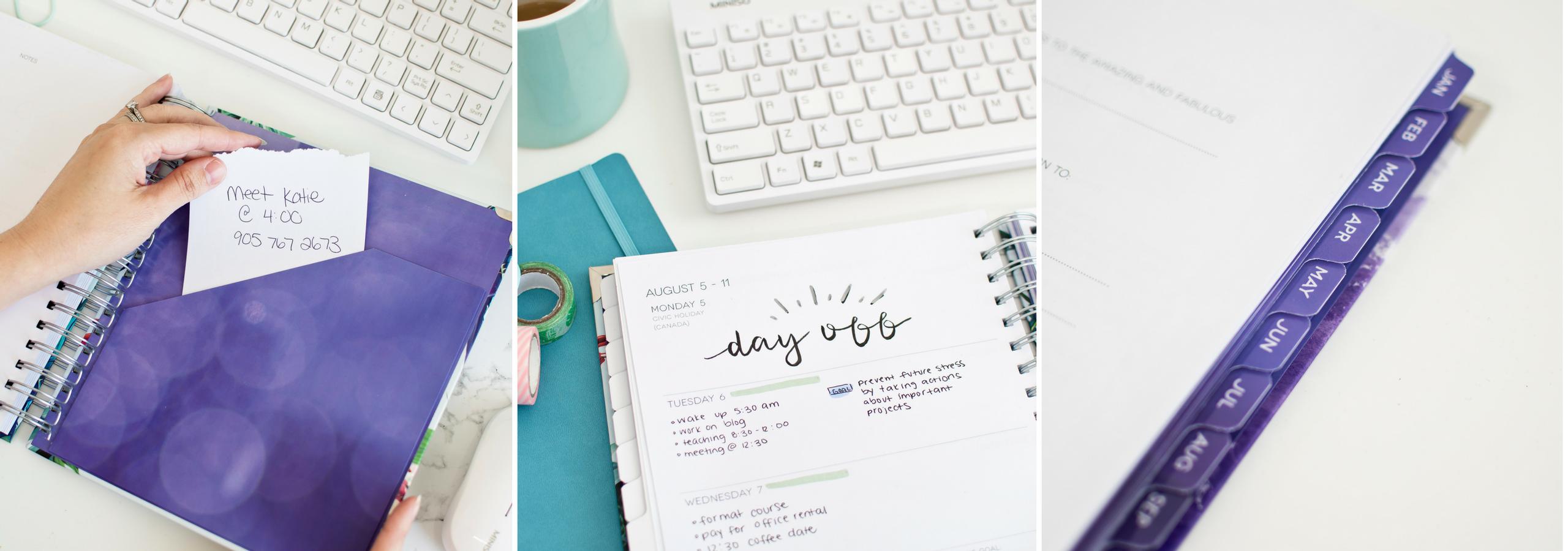 Dream Life Designer Planner inside preview