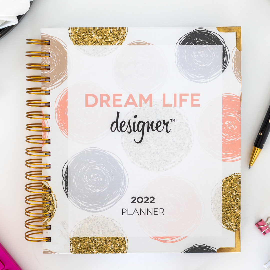 Confetti Dream Life Designer Planner 2022