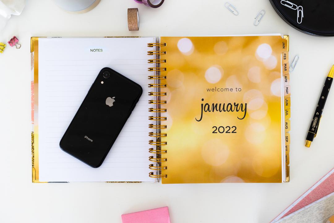 Dream Life Designer Planner 2022 inside preview