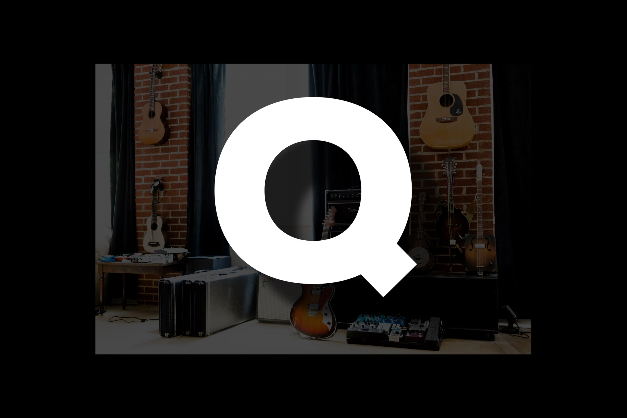 Glossary section containing music and guitar words that start with the letter Q.