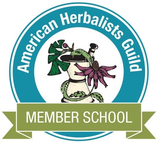 American Herbalists Guild Herbal School Member and Online Herb Classes