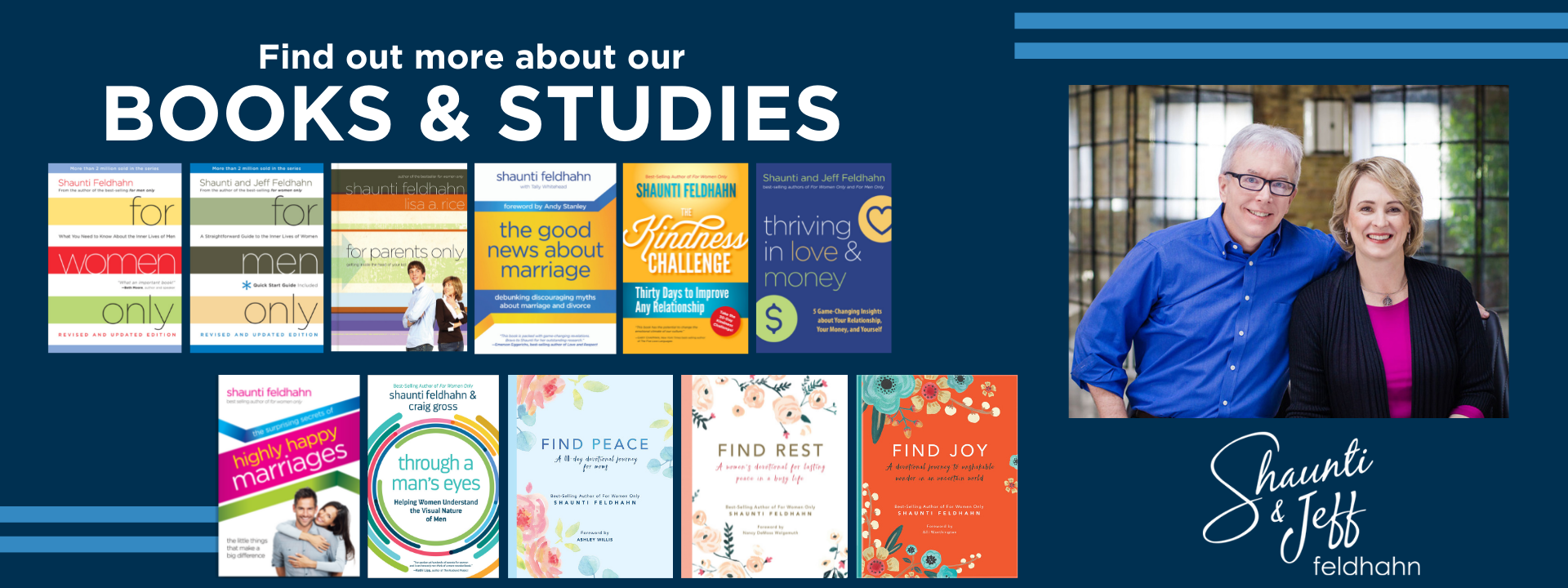 Find out more about our books and studies