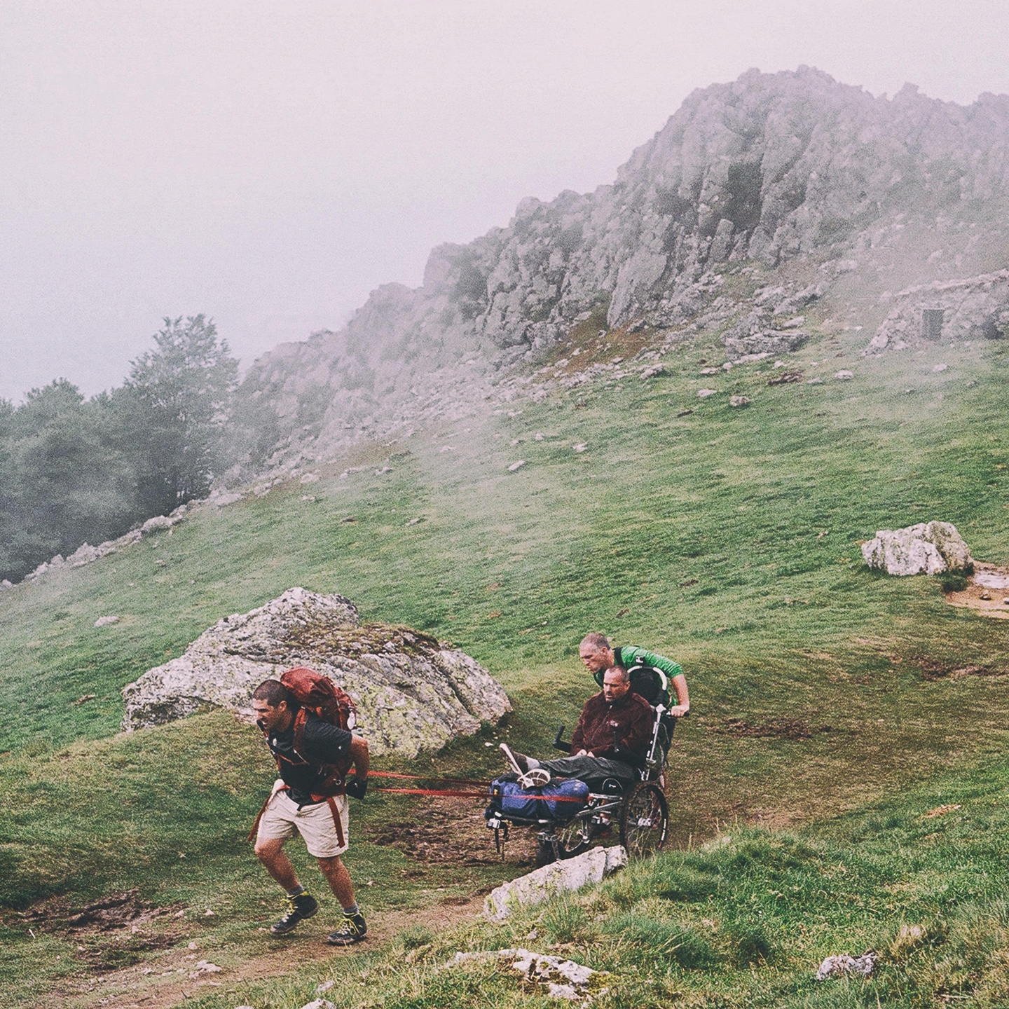 Justin and Patrick on the Camino