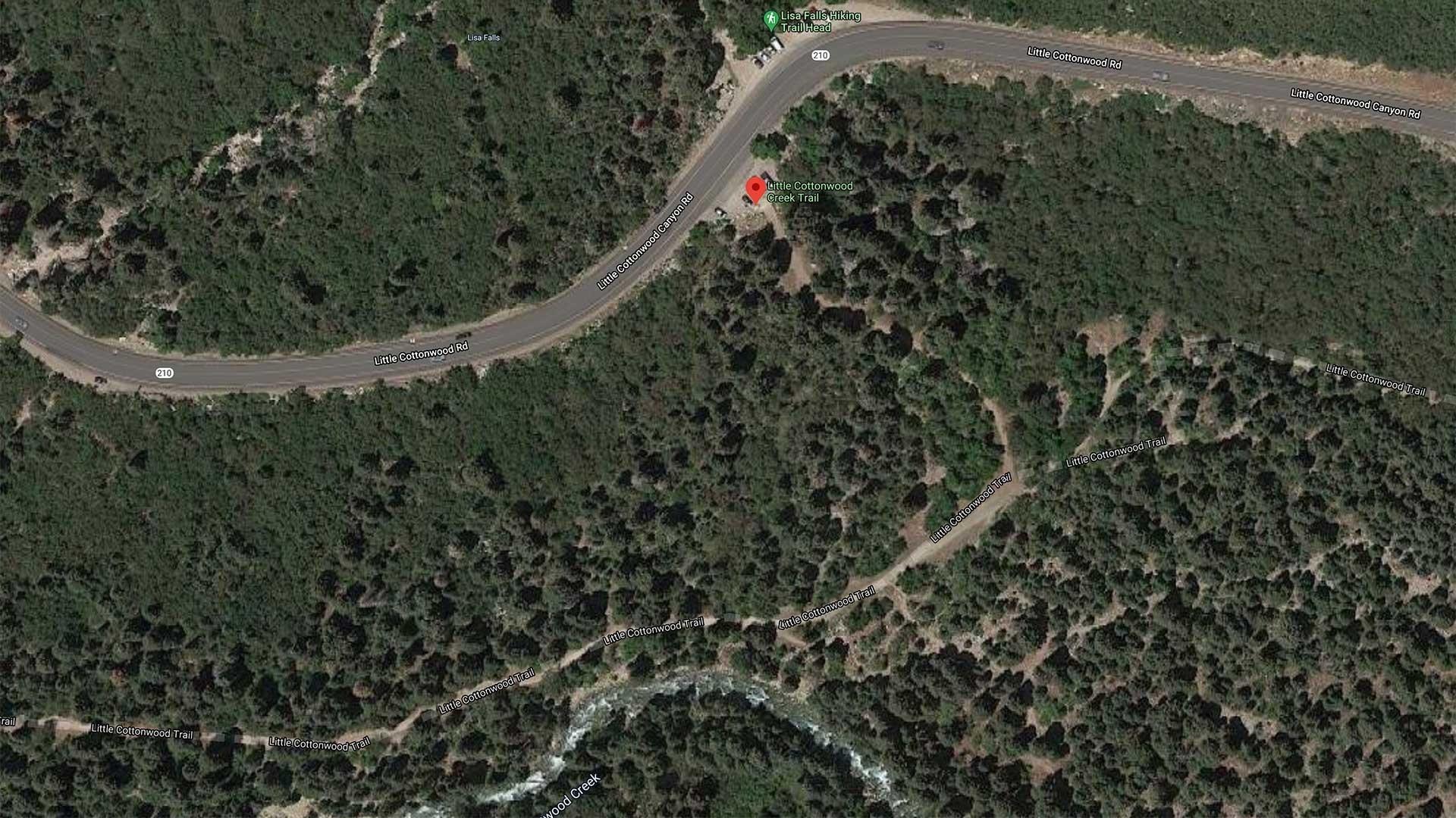 Little Cottonwood Creek Trail Map