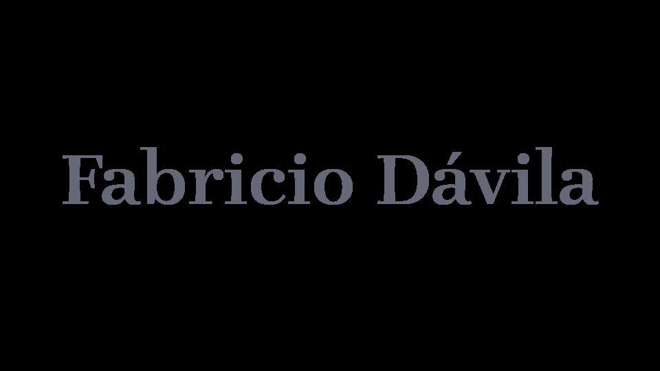 Fabricio Davila