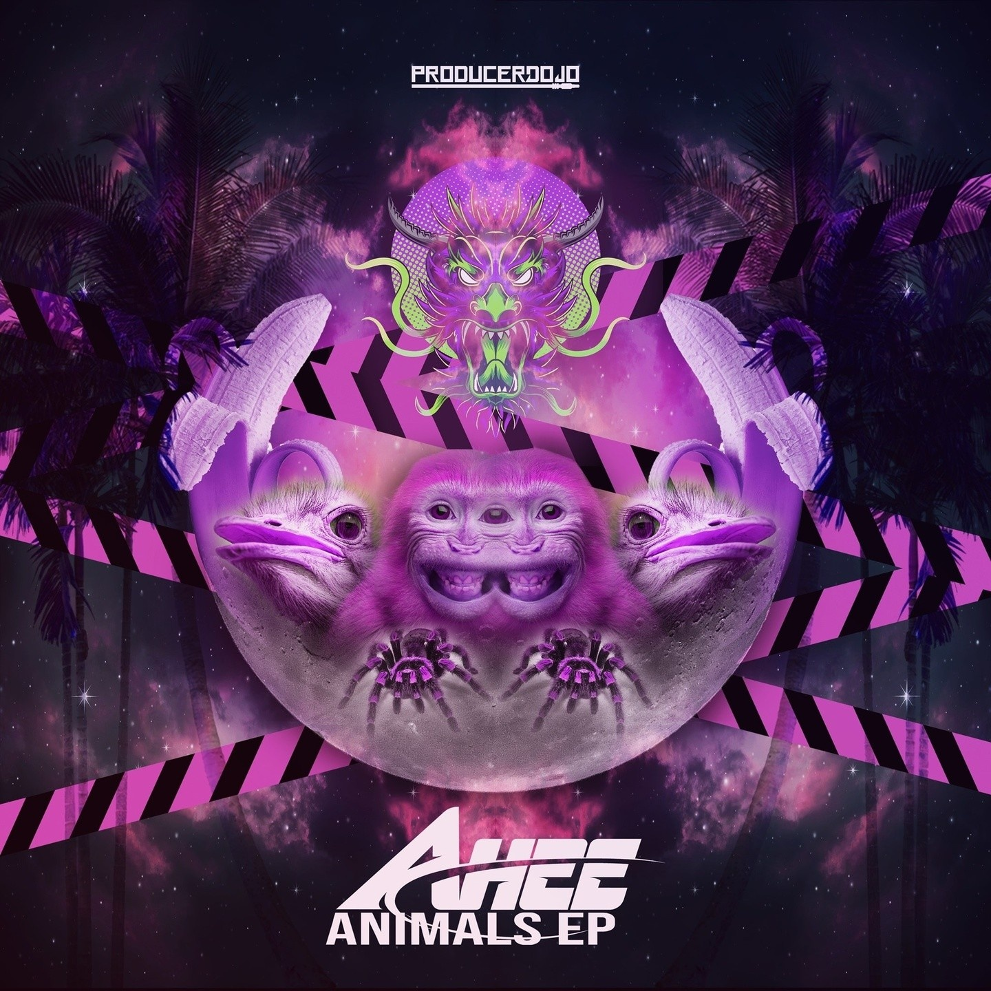 New EDM Music Animals EP by Ahee
