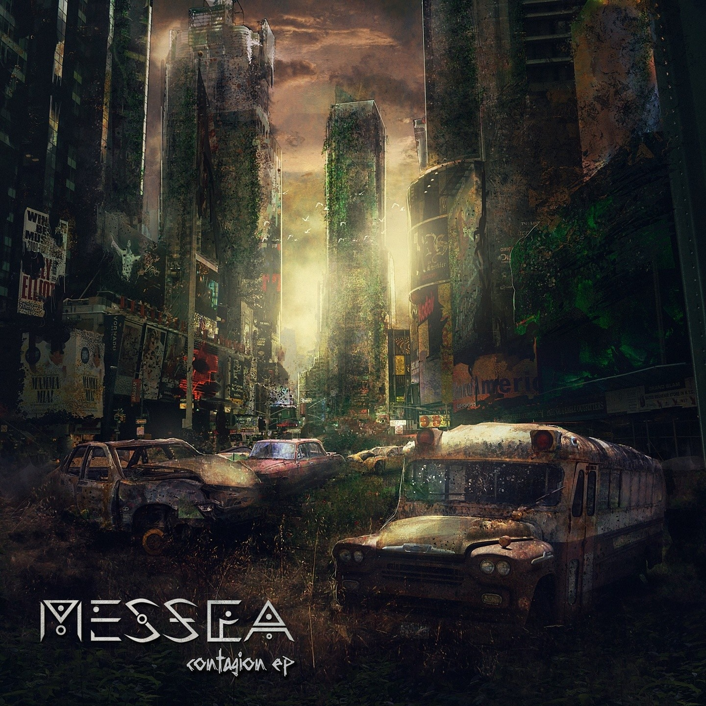 New EDM Music Contagion EP by MESSEA