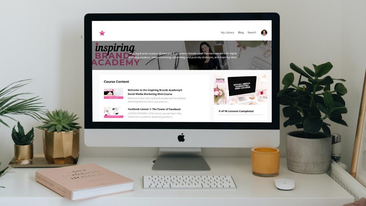 Inspiring Brands Academy Social Media Marketing Course - Digital Entrepreneur and Business Branding Expert Christina-Lauren Pollack