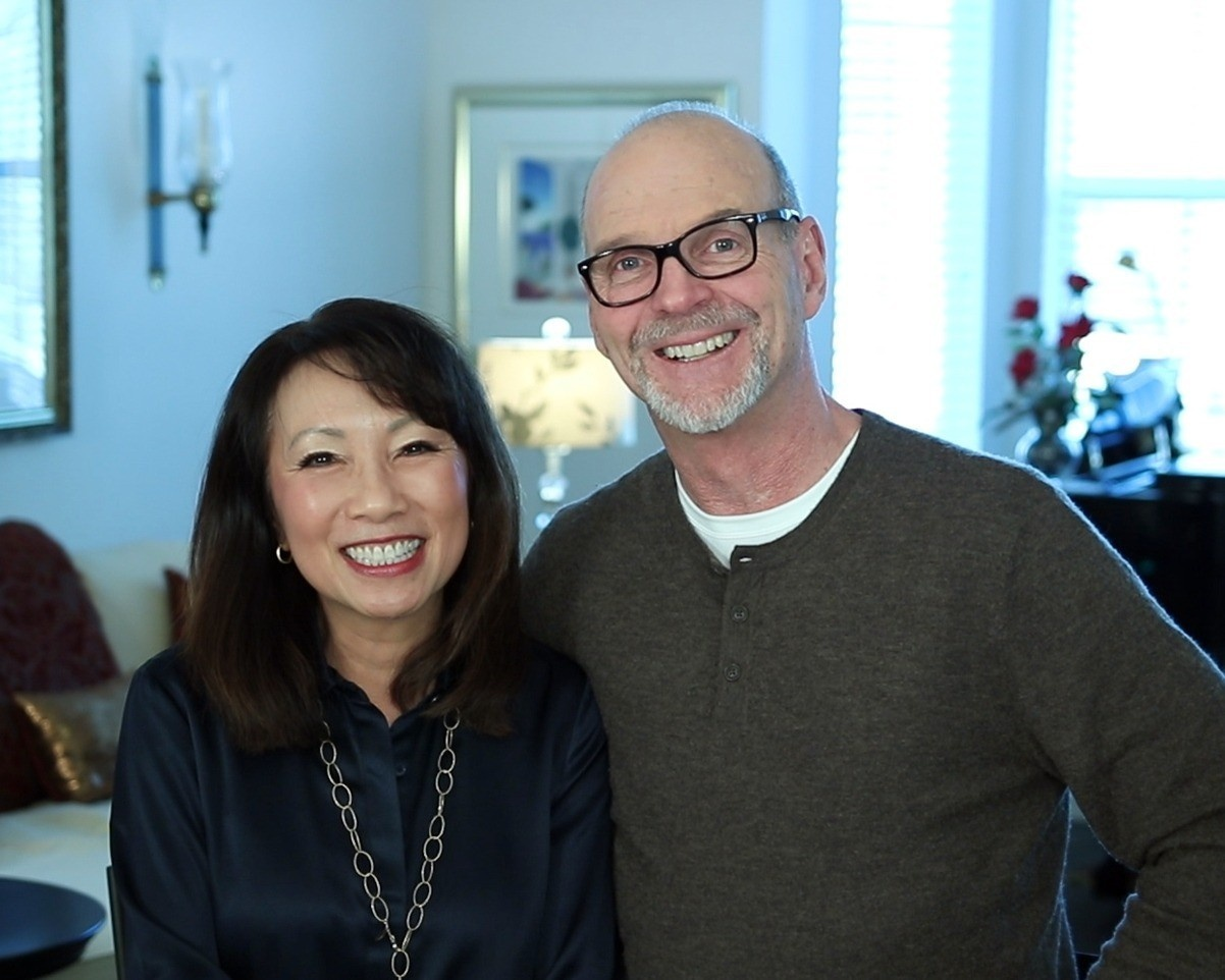 Jim Griffeth and Emily Liu