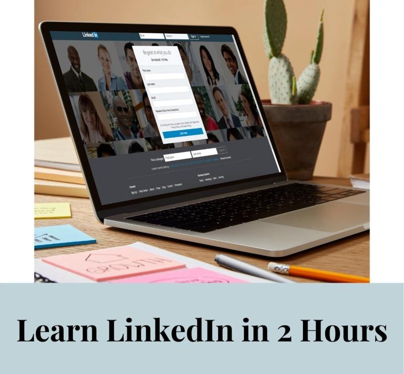 Learn LinkedIn in 2 Hours Online Course by Social Smarty, Jodine McIntyre