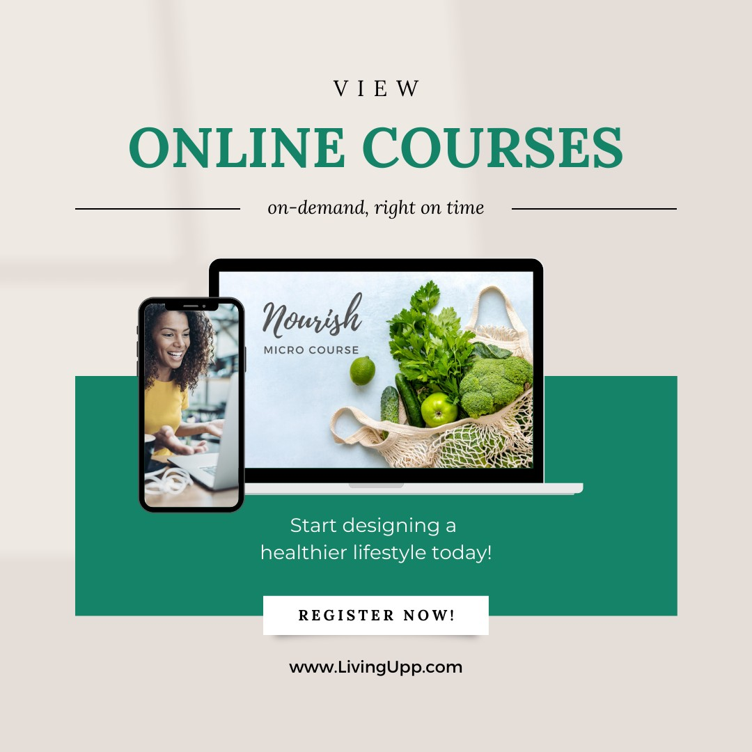 self-care courses available at LivingUpp