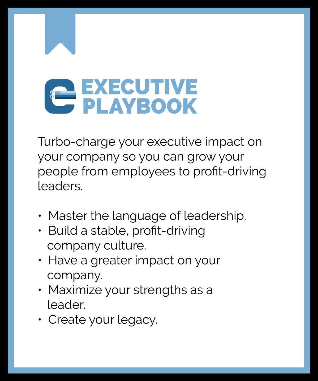 Executive training program