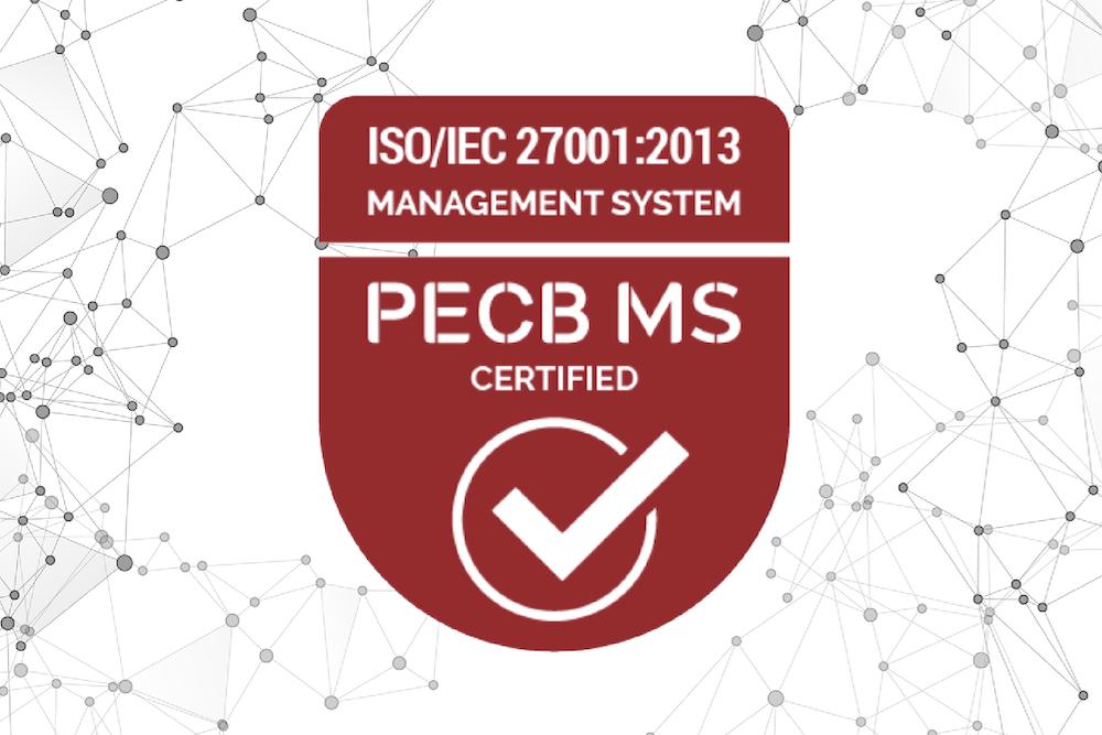 ISO/IEC 27001:2013 Certificate