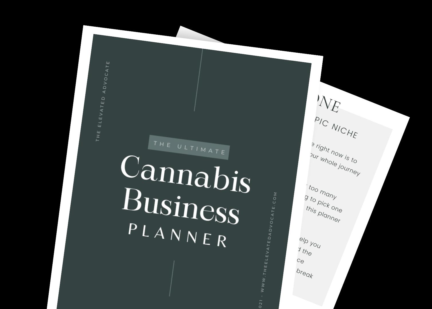 The Cannabis Coach Content Calendar