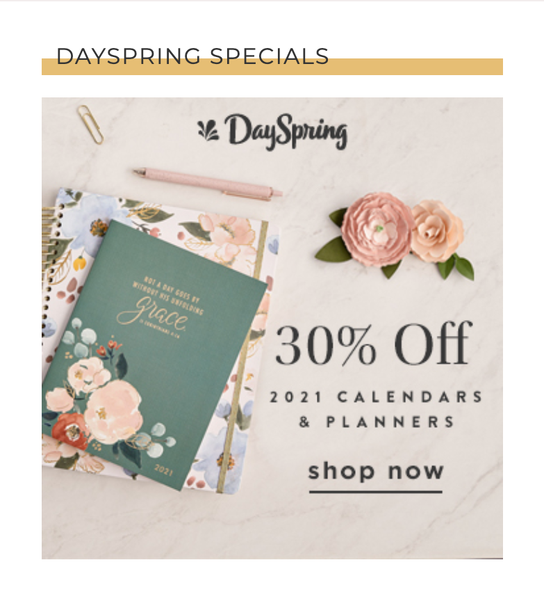 30% Off DaySpring