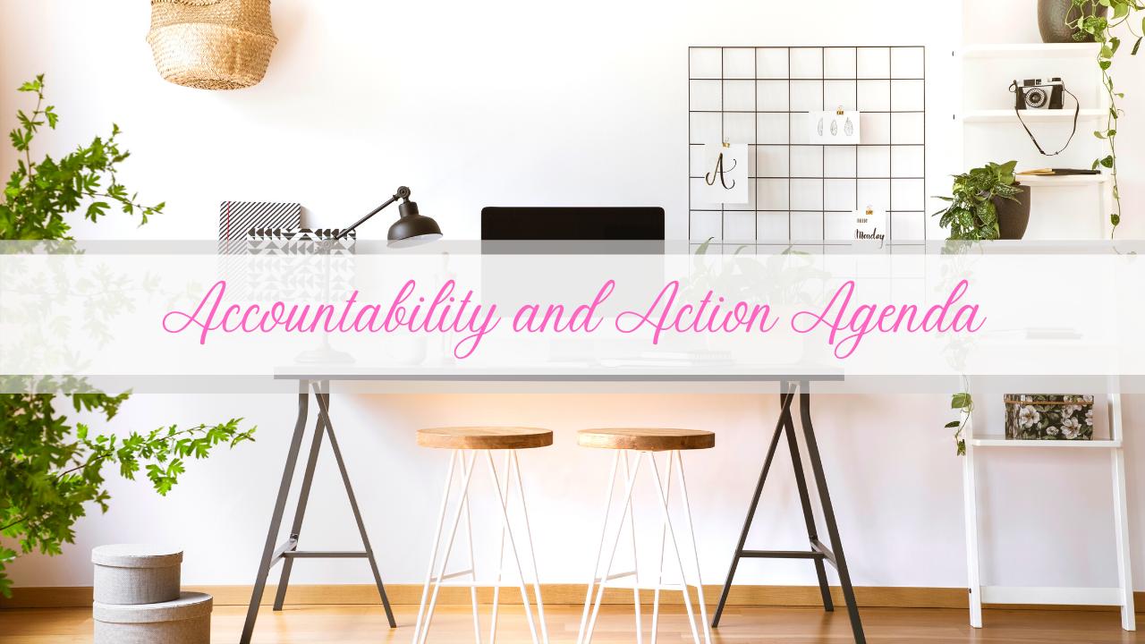 Accountability and Action Agenda