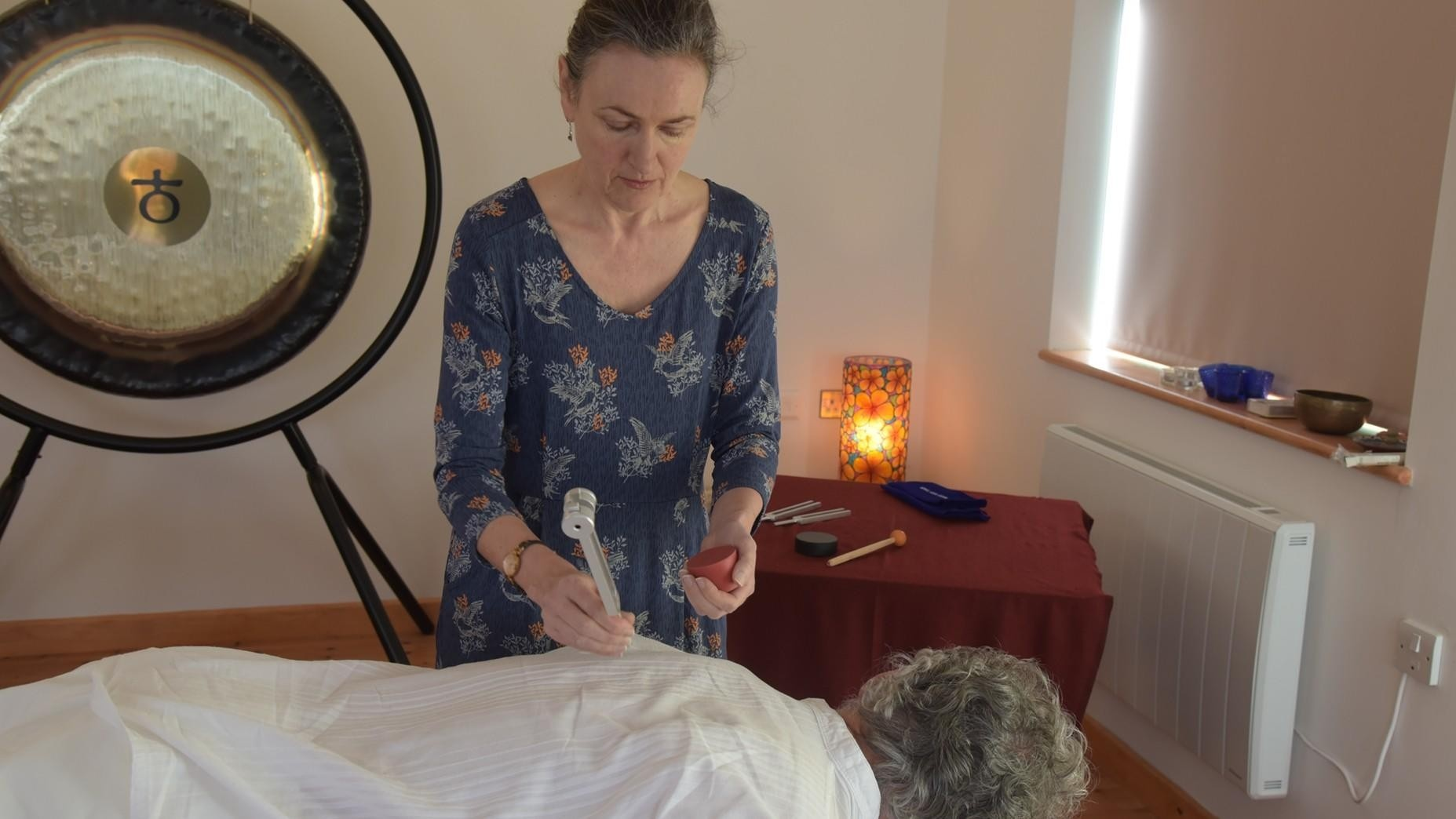 Sound Healing with Tuning Forks