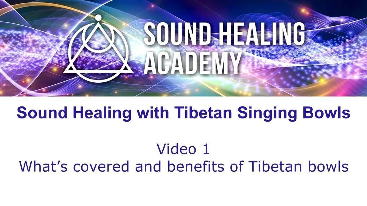 Sound Healing with Tibetan Singing Bowls