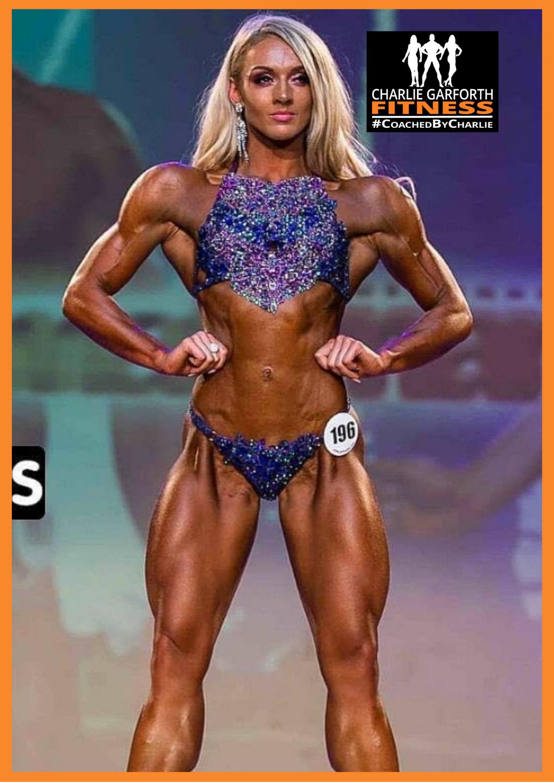 Female Fitness Model Champion Jade Abbott