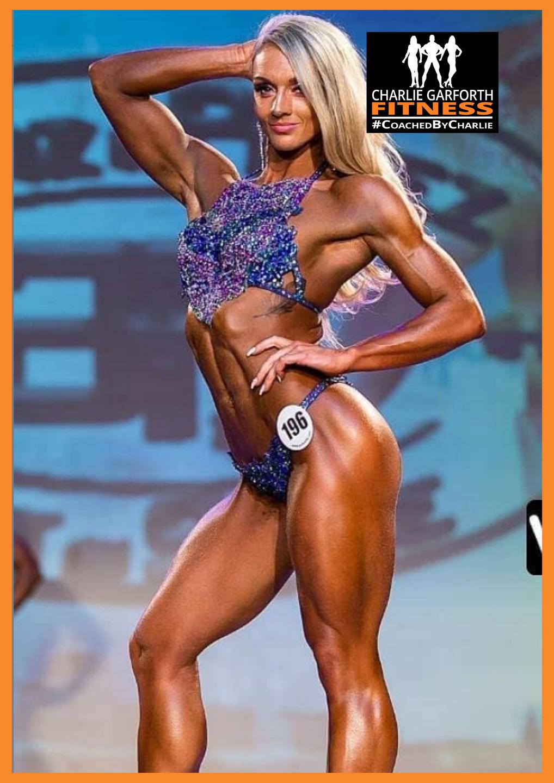 Female Fitness Model Bodybuilding Comp Prep Champion