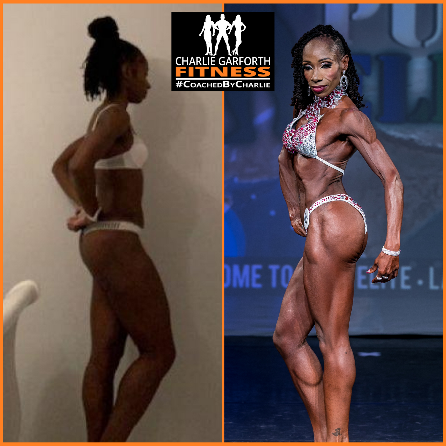 Female fitness model pro competition prep transformation