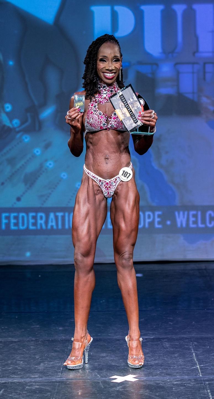 Chantel Mason Pro Fitness Model Comp Prep Winner