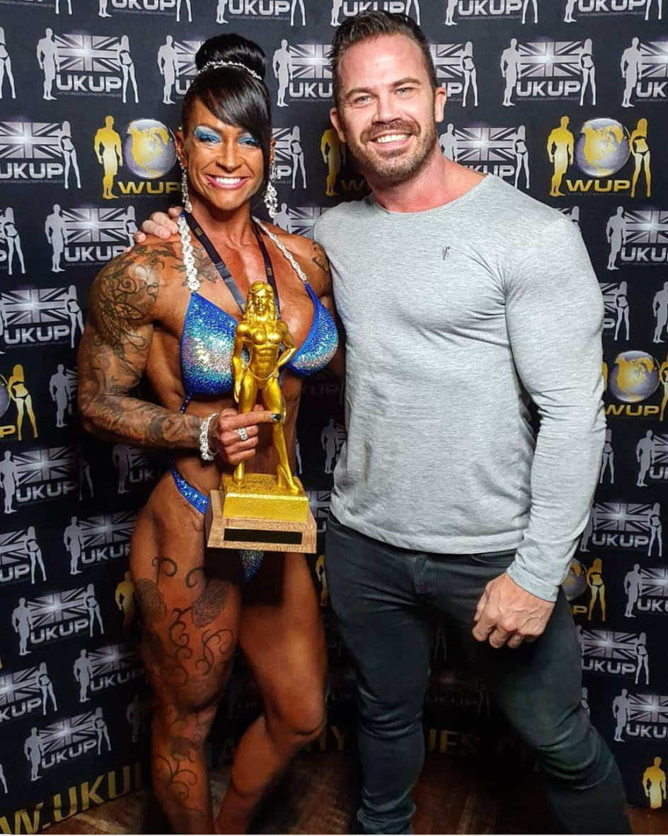 Claire Crowther & Charlie Garforth Figure Champion and Coach