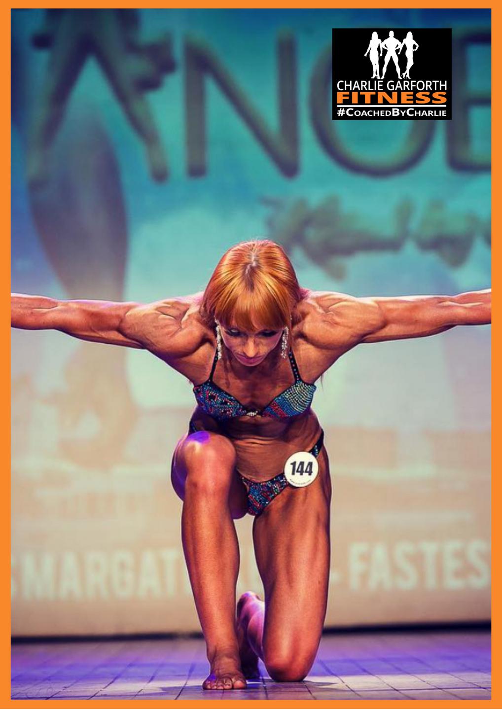 Alice Black First Place Figure Bodybuilder