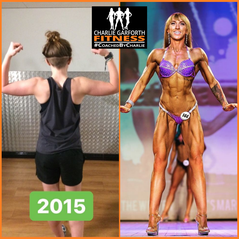 comp prep coaching figure bodybuilder transformation