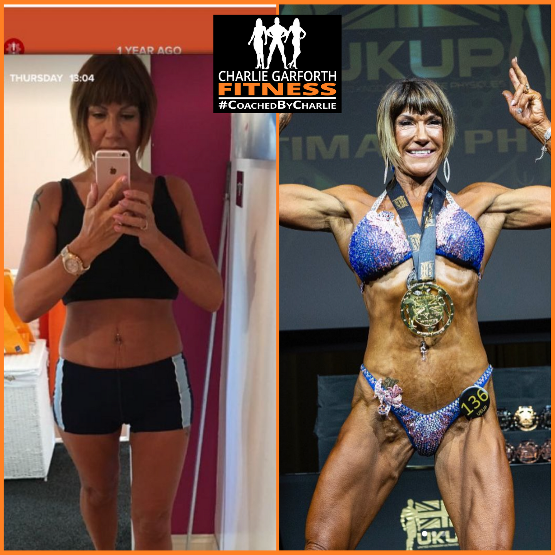 Comp prep womens physique transformation