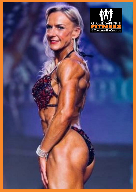 Paula Whitby Comp Prep Womens Physique Champion