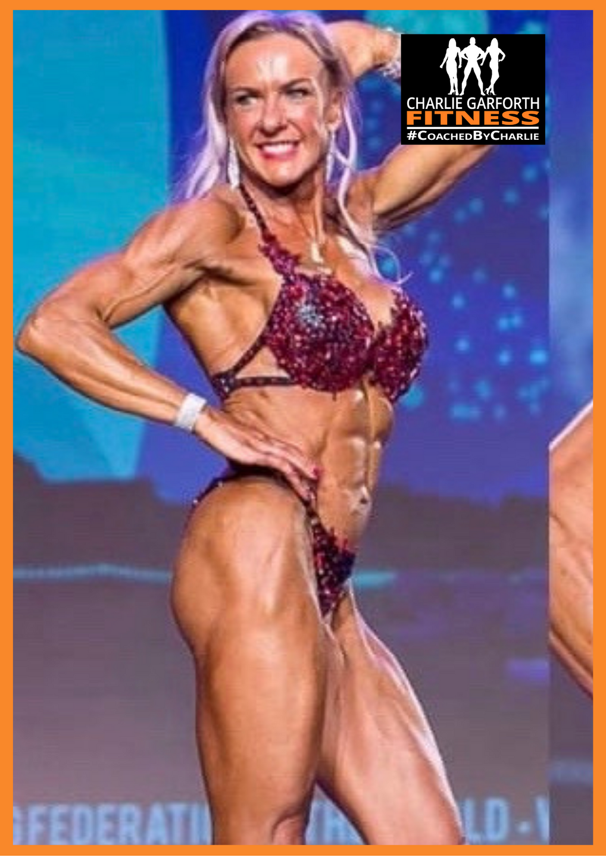 Paula Whitby Bodybuilder Champion