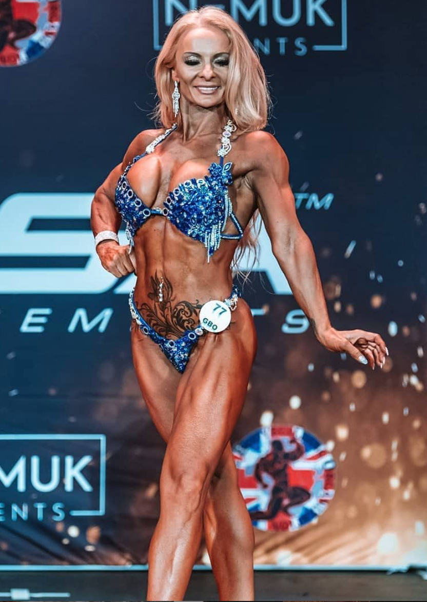Kim Williams Bodybuilder Champion