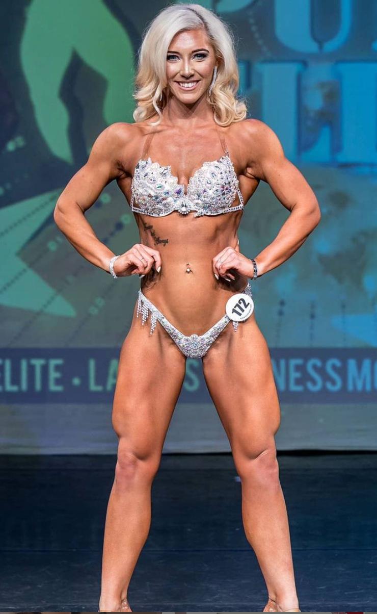 Zoe Angus Wellness Comp Prep Champion