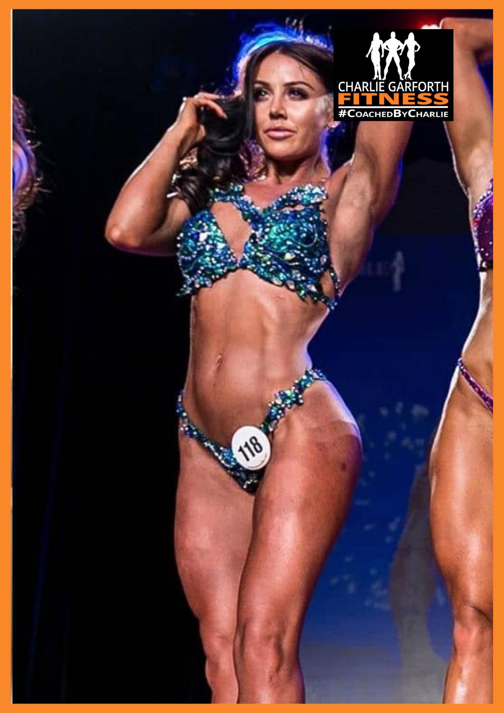 Sian Louisa Wellness Bodybuilding Client
