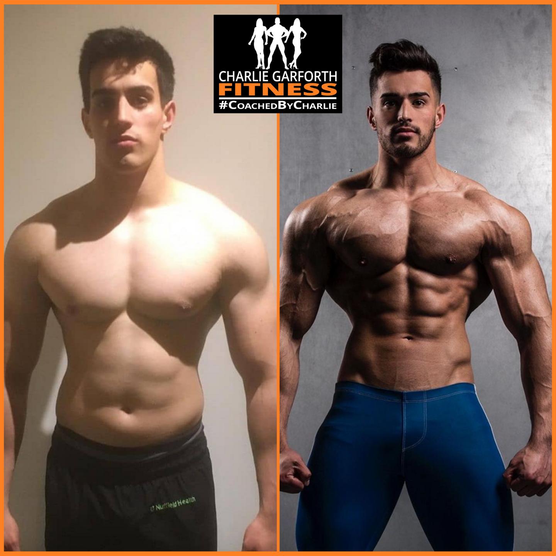 mens physique bodybuilding comp prep transformation