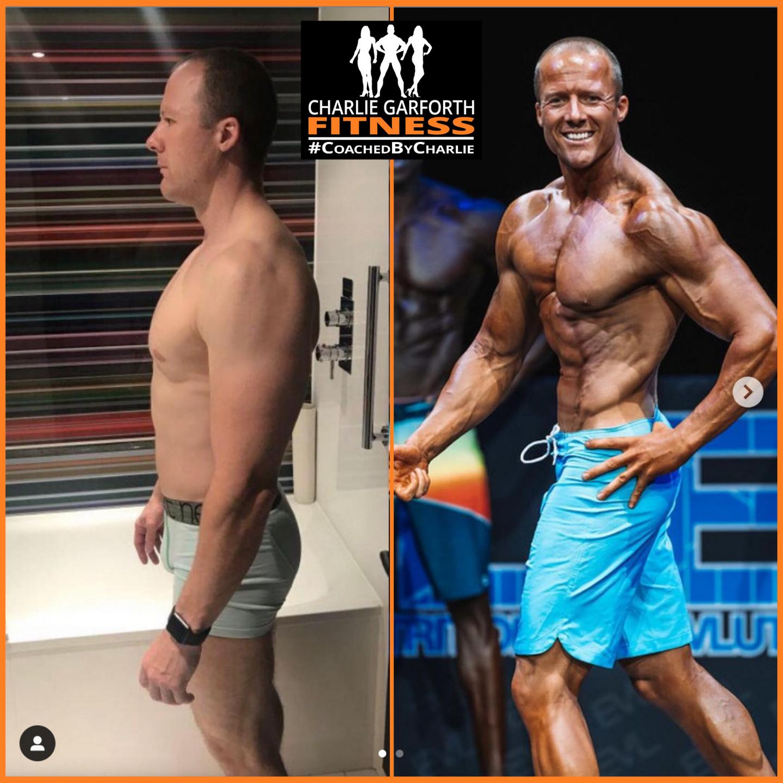 mens physique online coach comp prep transformation