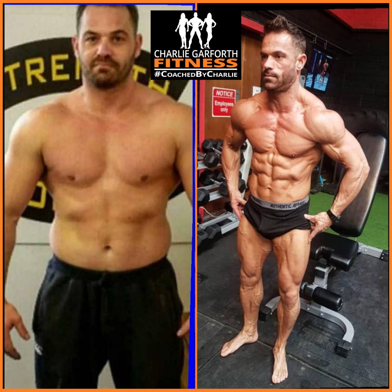 male fitness model bodybuilder coach transformation