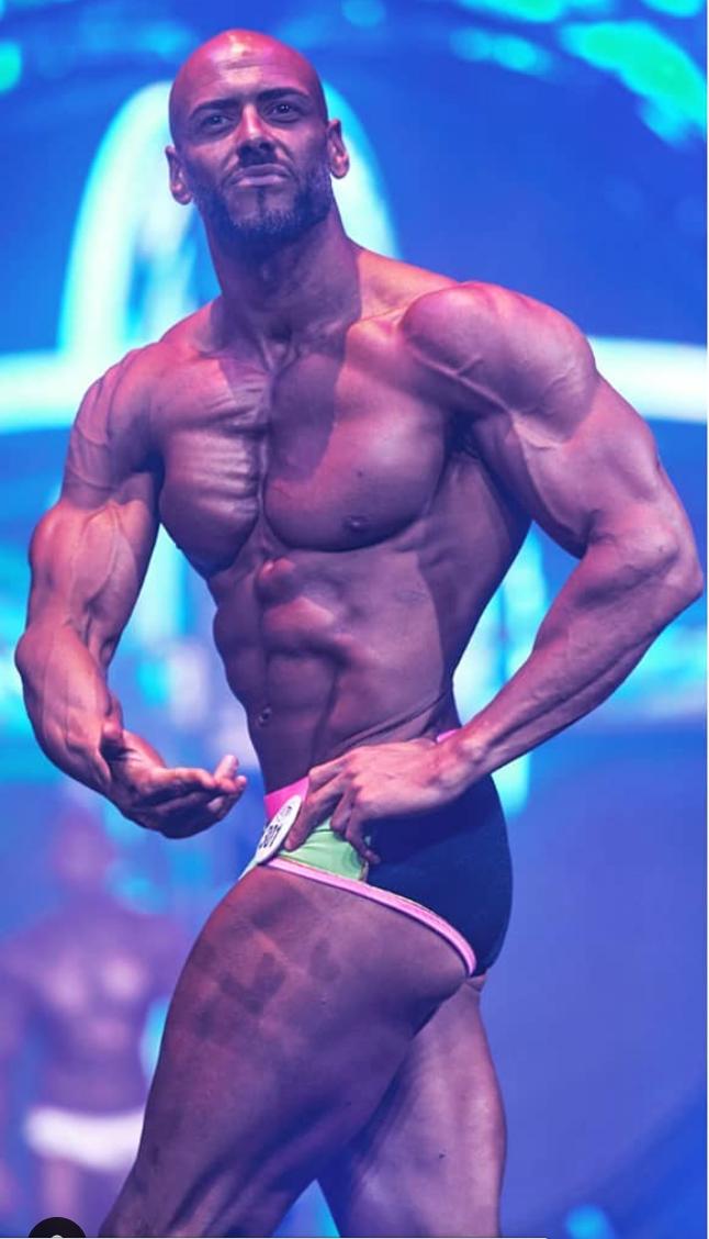 Brian Hazel WBFF Pro Client Fitness Model Client