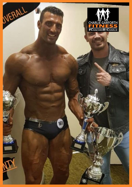 Wesley Grant muscle model bodybuilder champion