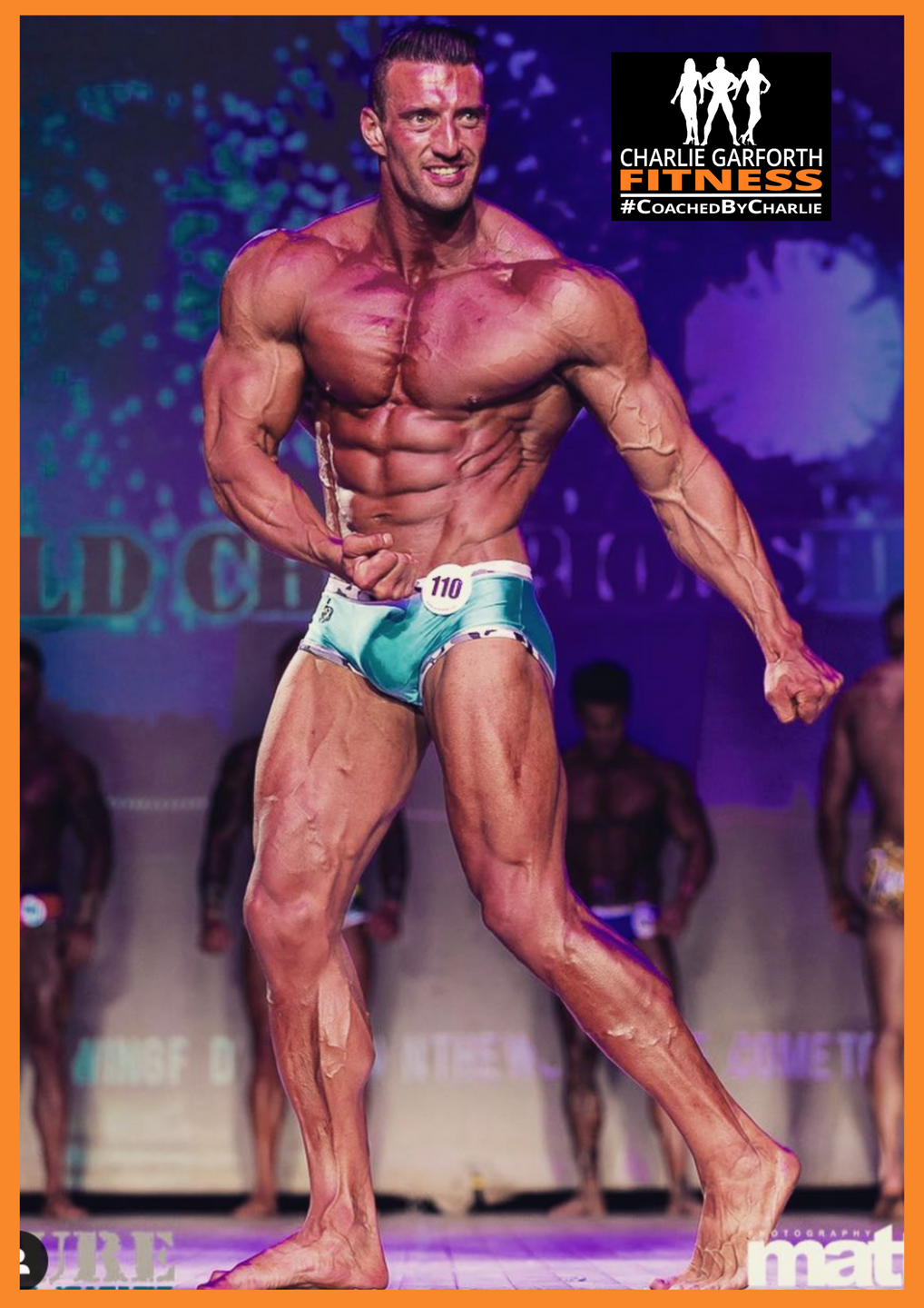 Wesley Grant muscle model comp prep champion